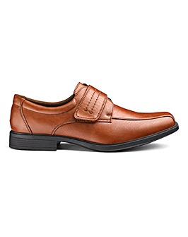 Easy Fasten Formal Shoes Wide Fit