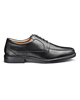 Leather Lace Up Formal Shoes Extra Wide