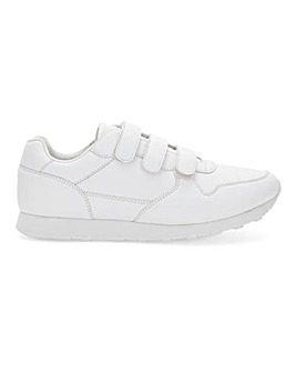 Glynn Leather Look EF Trainer W Fit