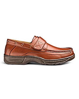 Cushion Walk Easy Fasten Boat Shoes Wide Fit