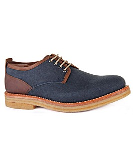 Chatham Embassy Canvas Derby Shoe