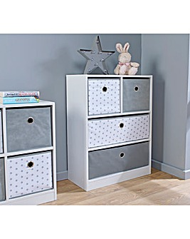 Stars 2 over 2 Drawer Unit