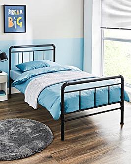 Bowen Kid's Industrial Metal Bed Frame