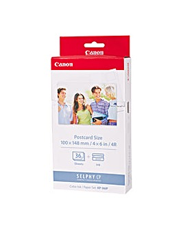 Canon KP-36IP Ink/Paper set CP Series