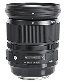 Sigma 24-105mm DG A OS HSM Nikon Lens