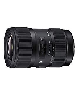 Sigma 18-35mm f/1.8 DC HSM Sony Lens