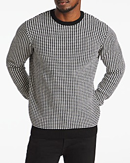 Dogtooth Crew Neck Jumper