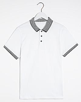 Jaquard Collar Polo
