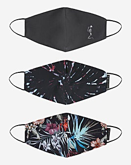 Religion Printed 3 Pack Face Coverings