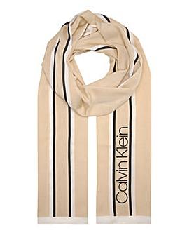 Calvin Klein Stripe Scarf