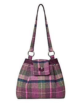 Joe Browns Hawthorn Tweed Vintage Bag