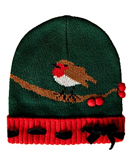 Joe Browns Rockin' Robin Knitted Hat