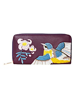 Joe Browns Vintage Bluetit Zip Purse
