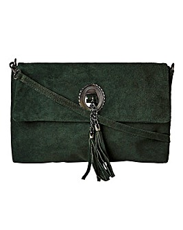 Joe Browns Florence At Dusk Suede Bag
