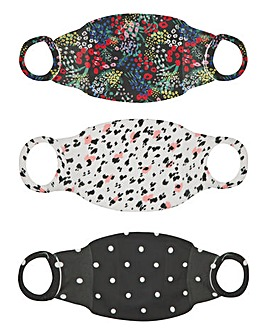 Little Mistress 3 Pack Face Coverings