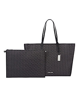 Calvin Klein Shopper with Laptop Pouch