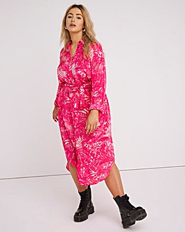 Religion Root Shirt Dress