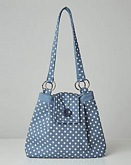 Joe Browns Sweet Vintage Polka Dot Bag