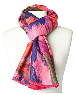 Joe Browns Carnival of Colour Reversible Wrap Scarf