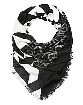 Calvin Klein Quilt Foulard Scarf