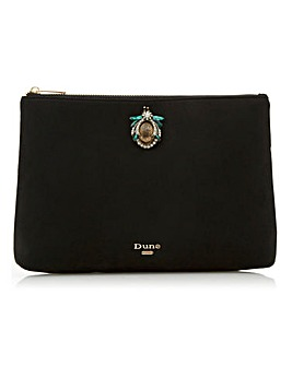 Dune Safiyah Embellished Clutch Bag