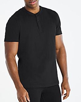 Core Grandad Neck Tee Long