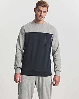 Crew Neck Tech Sweatshirt Long