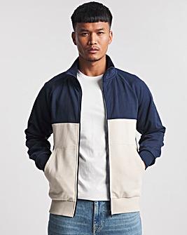 Funnel Neck Full Zip Sweatshirt Long
