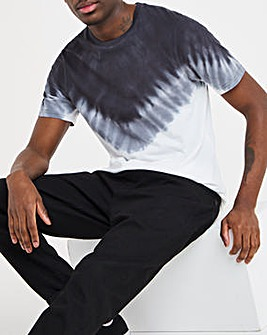 Jacamo Tie Dye T-shirt Long