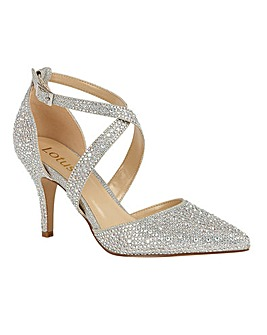 Lotus Star Pointed-Toe Shoes
