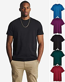 Pack 5 Crew Neck T-shirts