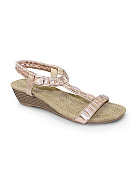 Lunar Reynolds Wedge Sandal