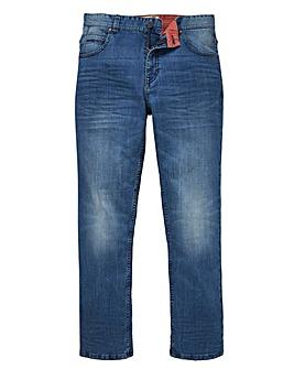 Lambretta King Lightwash Jeans 31in