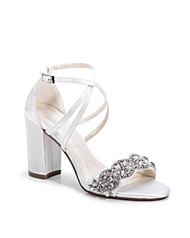Paradox London Hira Block Heel Sandals