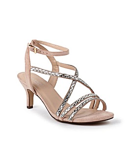 Paradox London Hermina Wide E Fit Sandal
