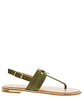 Accessorize Ring Detail Sandal