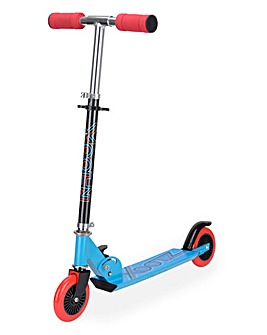 Xootz Folding Scooter Blue