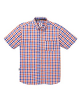 Lambretta Citrus Check Shirt Long