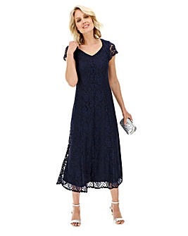 Julipa Navy Lace Dress