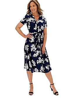 Julipa Print Shirt Dress