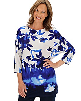 Julipa Border Print Tunic