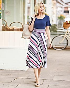 Jersey Stripe Dress