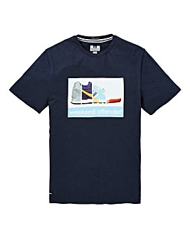 Weekend Offender Train Spotter T-Shirt L