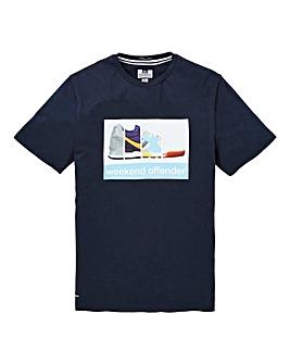 Weekend Offender Train Spotter T-Shirt Long