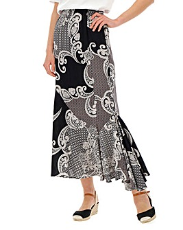 Julipa Printed Maxi Skirt
