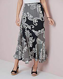 Julipa Printed Maxi Skirt