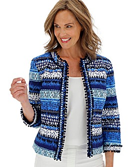 Padded Printed Trophy Jacket