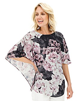 Julipa Cape Back Blouse