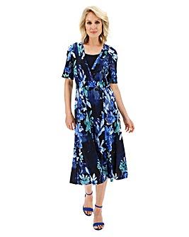 Slimma Print Dress