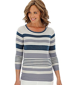Super Soft Stripe Jumper